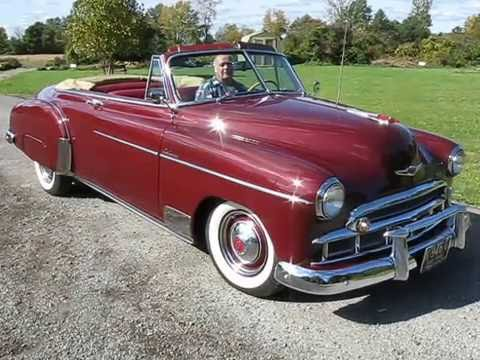 1949 Chevrolet Styleline Deluxe Convertible For Sale Youtube