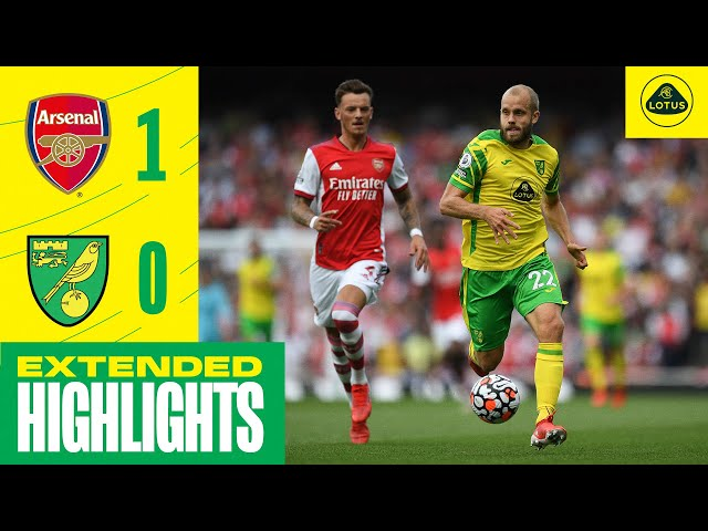 EXTENDED HIGHLIGHTS | Arsenal 1-0 Norwich City