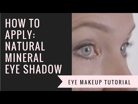 How to Apply Mineral Eye Shadow | Afterglow Cosmetics