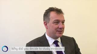 Why did Dan Wood decide to study medicine?