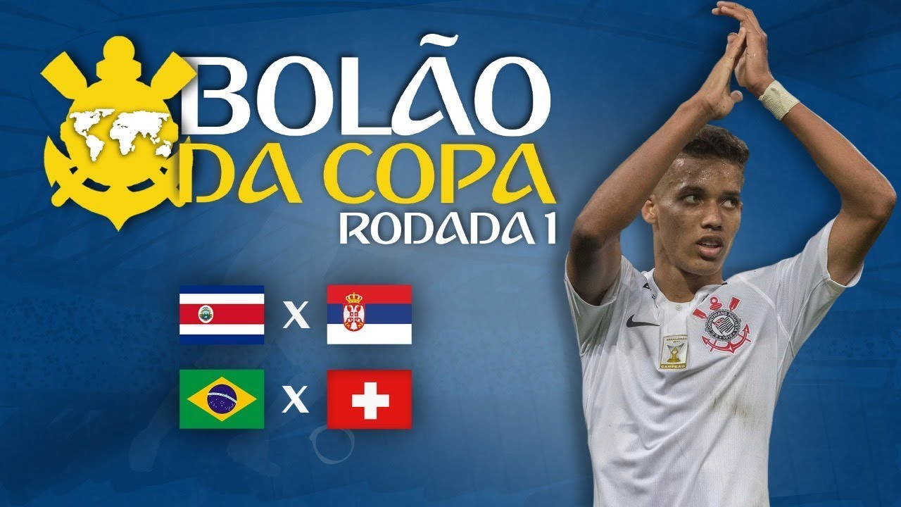 Bolão da Copa - Primeira Rodada - SC Corinthians Paulista 2018-06-16 13:10