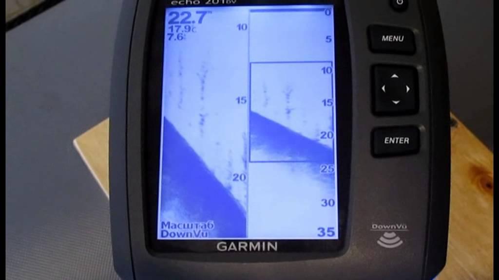обзор эхолота гармин эхо 200