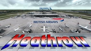 FSX - [HD] British Airways 767 Approach to London Heathrow