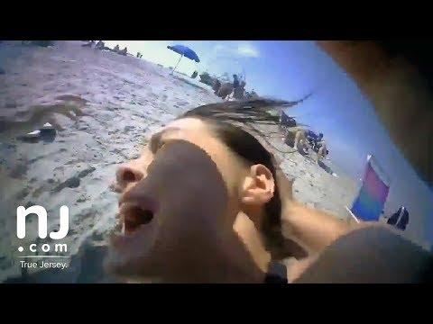 Wildwood beach police arrest (short version)