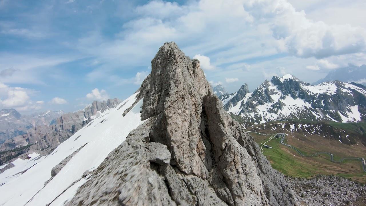 Download DJI FPV | Dolomites | Passo Giau