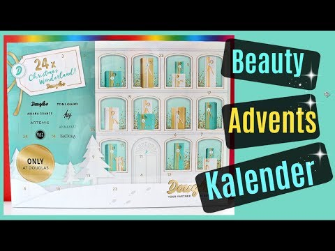 douglas beauty adventskalender 2017 unboxing 9999 dinge. Black Bedroom Furniture Sets. Home Design Ideas