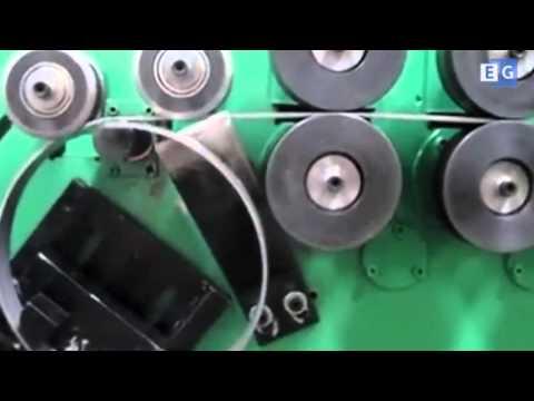 Станок для производства металлических колец