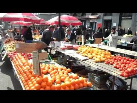 Zagreb - Dolac market on Saturday