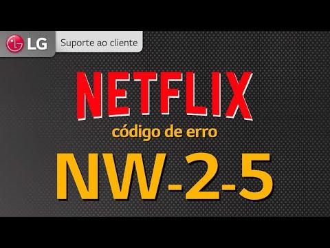 NETFLIX | Código de erro NW-2-5
