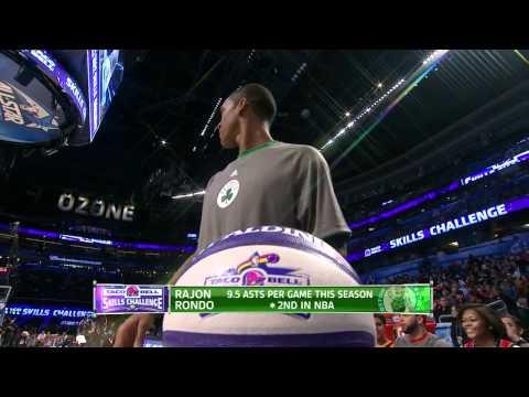 NBA Skills Challenge 2012 @ Orlando Part 1/3