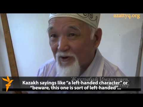 On Being 'A Left-Handed Character' In Kazakhstan