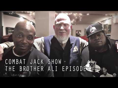 Combat Jack Show: The Brother Ali Episode