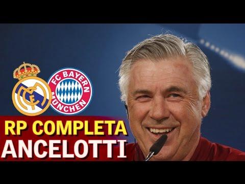Real Madrid-Bayern |Rueda de prensa previa de Ancelotti | Diario AS