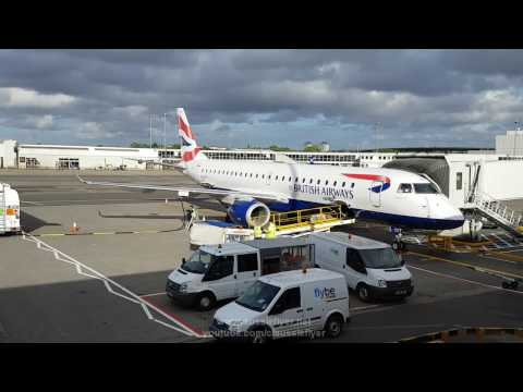 BA Cityflyer E190 ✈ Glasgow to London City BA8729