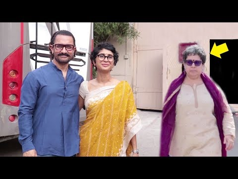 Aamir Khan Totally IGNORES Ex Wife Reena Dutta In Front Of Kiran Rao