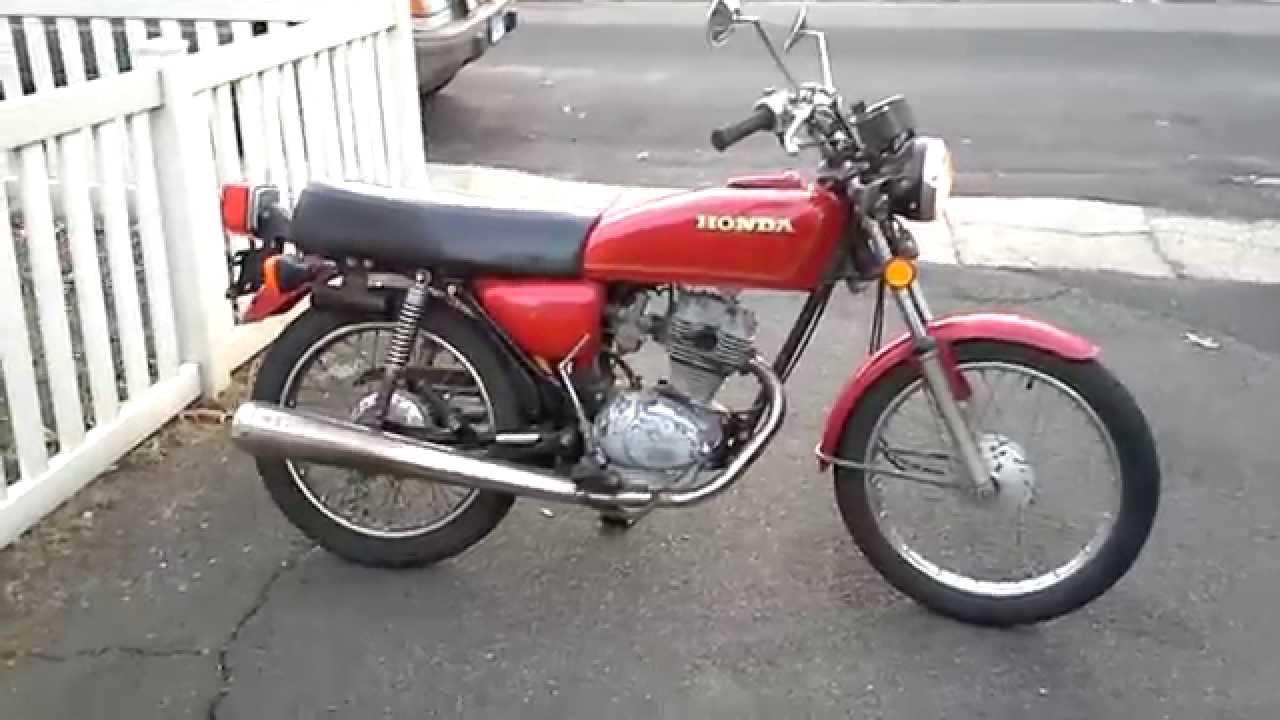 Honda cb125 - YouTube
