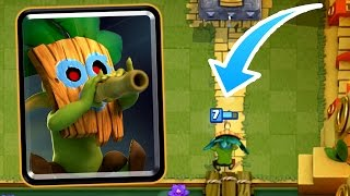 Clash Royale - DART GOBLIN! New Card Gameplay