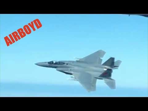 "Oregon Air National Guard ""Tactical Air Intercept"" Exercise"