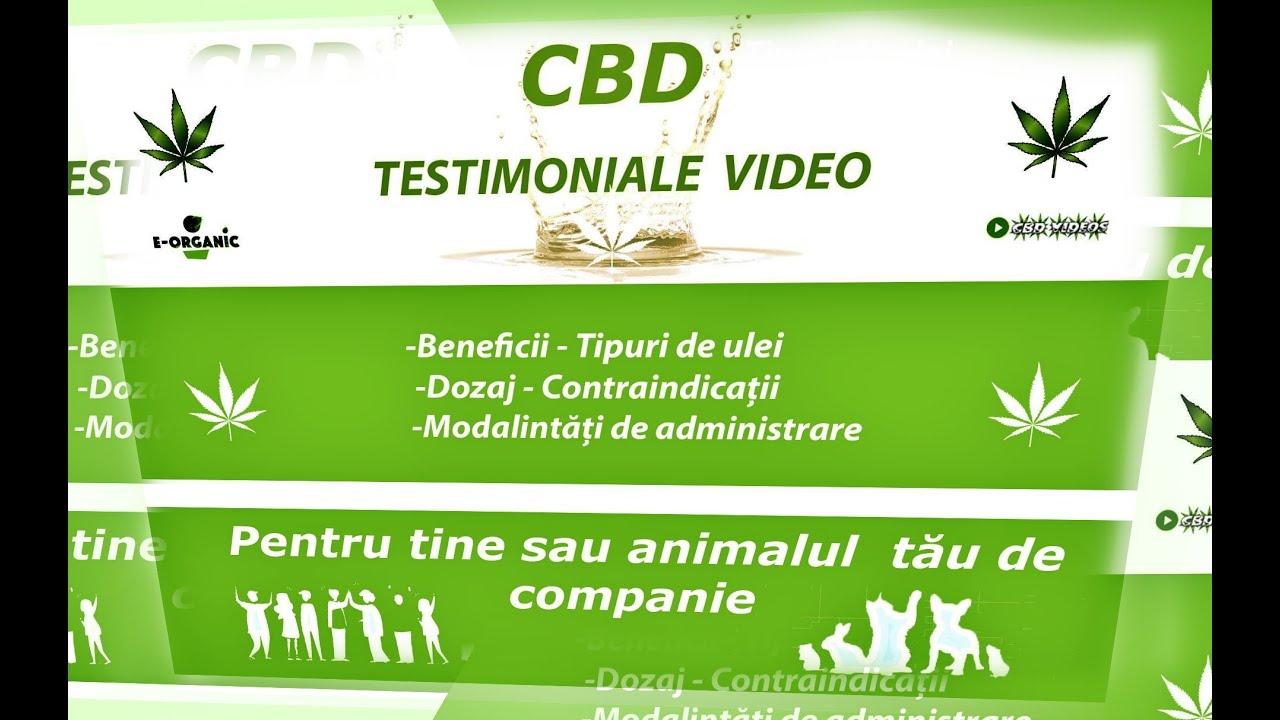 Testimoniale ulei CBD - Beneficii ale CBD-ului - ep. 1