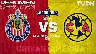 Resumen y goles | Chivas vs América | Cuartos final Ida - Guard1anes 2020 Liga BBVA MX | TUDN