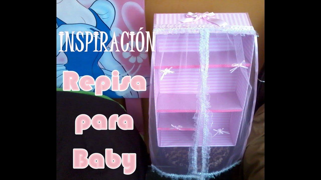 Inspiracin Repisa para Beb  Novedadescon Katherine