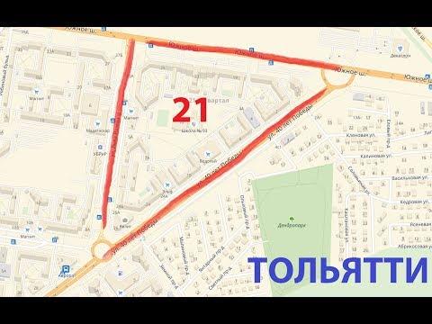 Обзор 21 квартала Тольятти