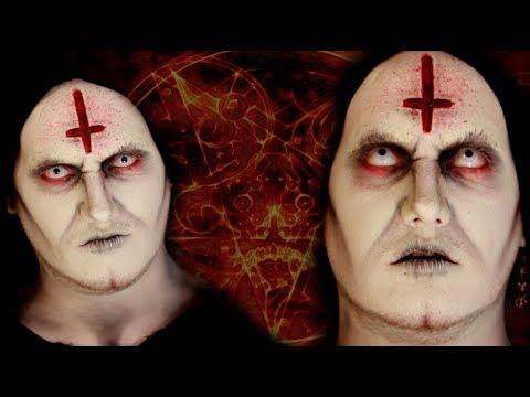 DEMONIC/SATANIC PRIEST- Makeup Tutorial