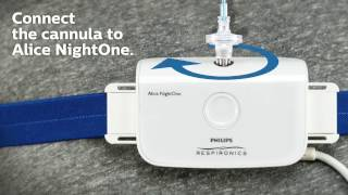 Alice NightOne Patient Setup | Philips | Sleep Diagnostic Testing