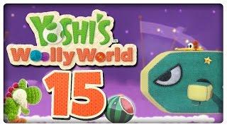 Let's Play YOSHI'S WOOLLY WORLD Part 15: Wolkenwilli-Flug ins Ungewisse