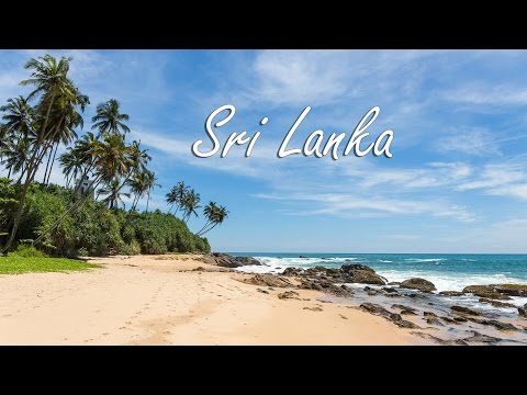 Sri Lanka 2017 - Travel with Gopro and Drone - 4K