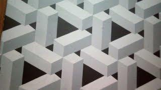 Pintura Decorativa Efeito 3D! Dicas de como Fazer...