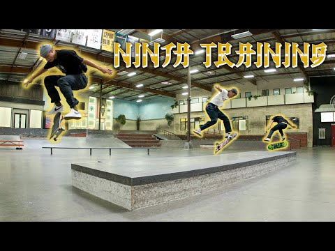 Flip Skateboards Amateurs Ninja Training