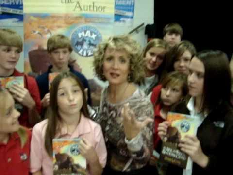 Jenny L. Cote visits Sherwood Christian Academy Al...