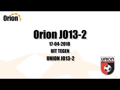 Orion JO13-2 vs Union JO13-2 (HD)