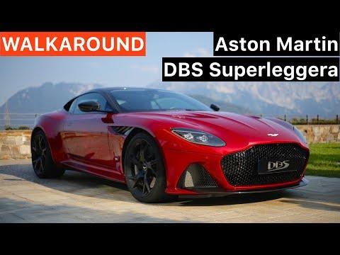 Aston Martin DBS Superleggera WALKAROUND + SOUND