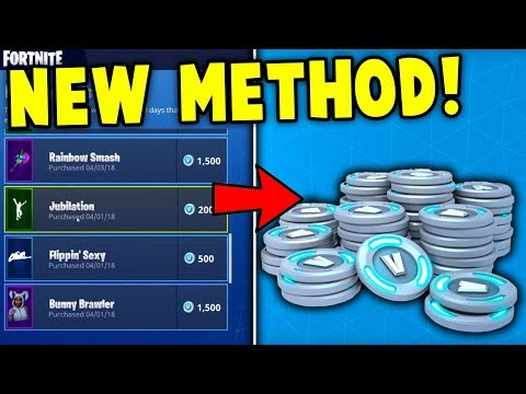 *FIXED* HOW TO REFUND SKINS For FREE in Fortnite! (New Refund Method *AFTER PATCH*)