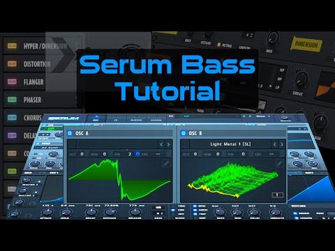 Serum Synth Tutorial: Bass Sound Design