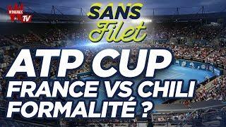 Tennis ATP CUP 2020 France vs Chili une formalité