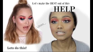 I Tried following Nikkie Tutorials Makeup | HELP |