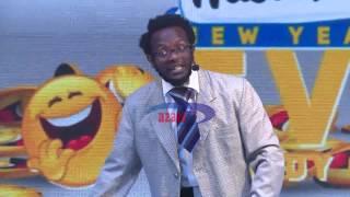 Azam TV - PROF. HAMO alivyovunja mbavu za watanzania katika mkesha wa mwaka mpya Mlimani City