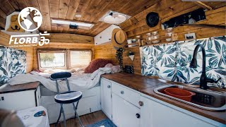 Beautiful Budget Van Conversion: Better to Travel on a Budget than not at all