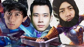 Top 1 Fanny, Top 1 Gusion, Top 1 Johnson Bersatu  - Mobile Legends