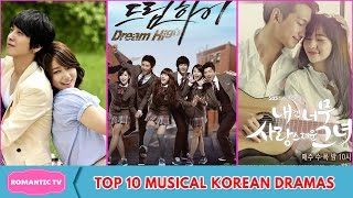 Video Top 10 Musical Korean Dramas download MP3, 3GP, MP4, WEBM, AVI, FLV September 2017