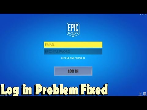 Fortnite Log In Problem Inside Of Game Fixed 2020 - 100% Working Bug Fix - Fortnite Sign In Bug