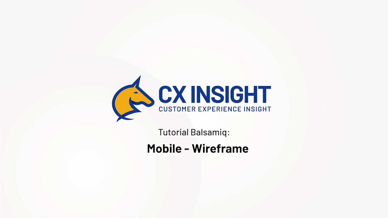 Tutorial Balsamiq # 4 Mobile Wireframe - YouTube