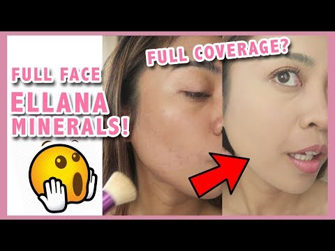 GRWM FULL FACE ELLANA MINERALS COSMETICS REVIEW | 11th Anniversary Event | Gen-zel Habab