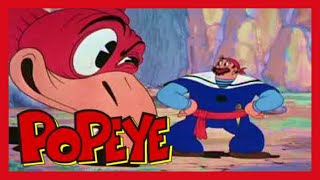 Popeye the Sailor Man | Popeye the Sailor Meets Sindbad the Sailor (Classic Cartoon)