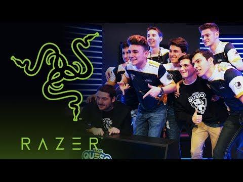 ¡RAZER ATERRIZA EN TEAM QUESO! Nos unimos al #TeamRazer