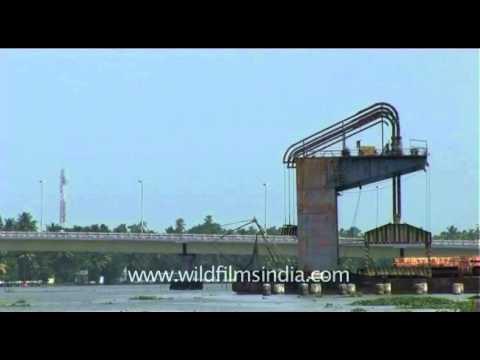 Goshree bridge in Kochi