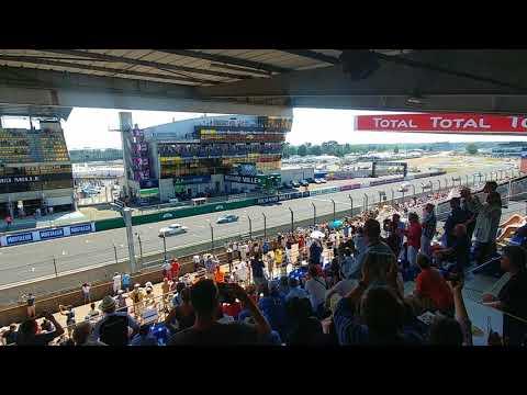 Départ Le Mans Classic 2018 groupe 6
